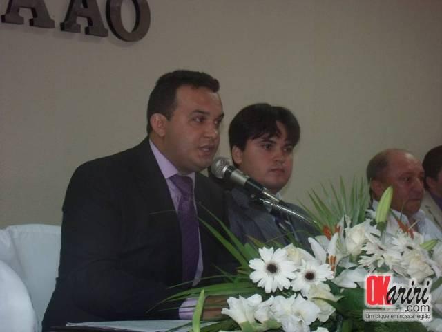 Câmara de Milagres é presidida pelo Vereador Antônio Ede Santana Daniel (Foto: Alecx Silva/Agência OKariri)