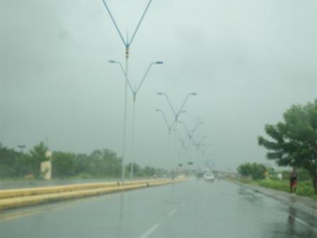 A causa das precipitações, que vêm ocorrendo desde junho, tem sido frentes chuvosas que se formam no litoral do Rio Grande do Norte e da Paraíba. (Foto: Wilson Gomes/Diário do Nordeste)