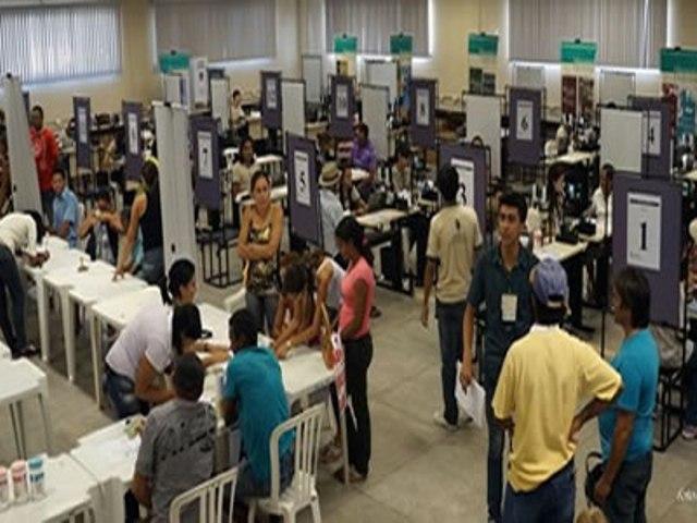 Esquema em Juazeiro do Norte está preparado para receber os eleitores (Foto: Divulgação)