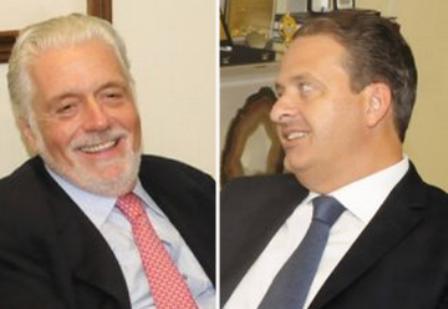 Jaques Wagner (PT) e Eduardo Campos (PSB) (Foto: Montagem/Ceará News 7)