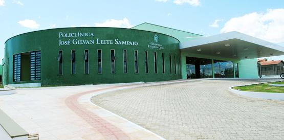 A Policlínica de Brejo Santo também atende a população do Barro (Foto: Divulgação)