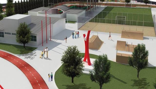 Projeto será financiado pelo Governo do Estado, por meio da Secretaria do Esporte e em parceria com o Governo Municipal (Foto: Divulgação)
