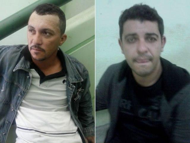 Célio e Gineson foram presos em Penaforte (Foto: Agência Miséria)