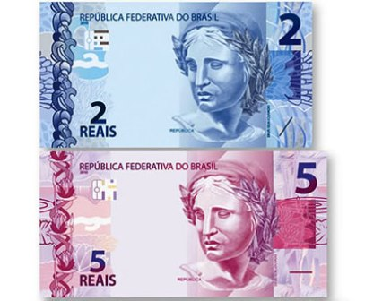 Cédulas da nova família do real (Foto: Divulgação)