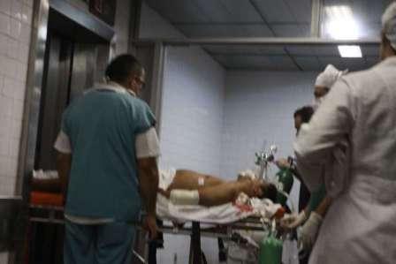 De acordo com o IJF, o estado de saúde do policial é estavel e ele não corre risco de morte (Foto: O Povo)