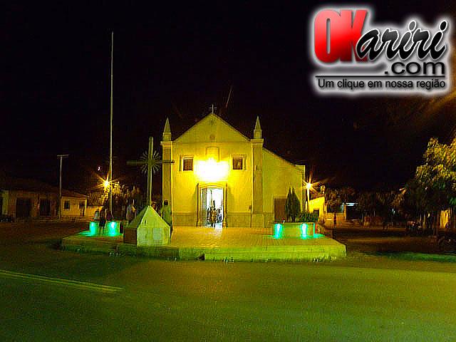 Programação é desenvolvida na Capela de Nossa Senhora do Rosário (Foto: Wendell Fernandes/Agência OKariri)