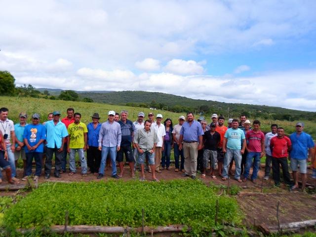 Iniciativa está beneficiando 40 famílias de agricultores e agricultoras (Foto: Divulgação)