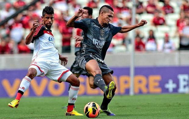 Partida entre Portuguesa e Flamengo na Arena Castelão (Foto: Jarbas Oliveira / Futura Press)