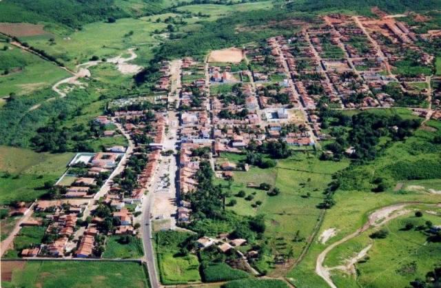 Vista aérea de Abaiara (Foto: Google Images)
