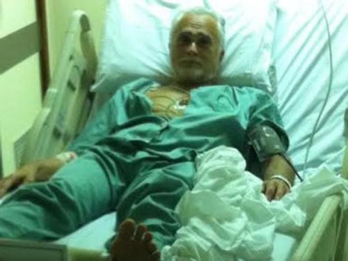 Genoino foi internado após ter um pico de pressão alta na prisão. (Foto: Reprodução)