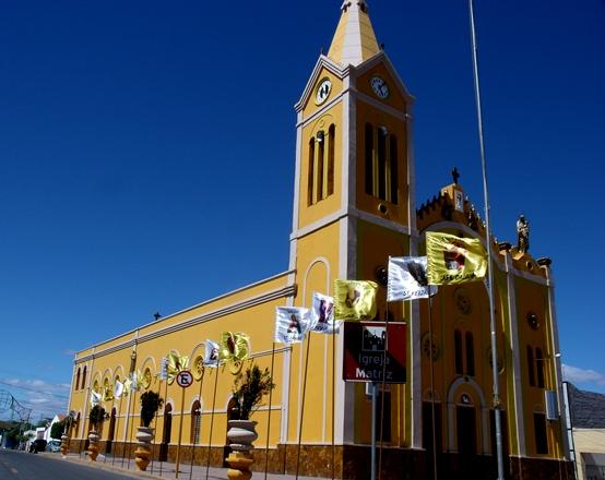 Fachada da Paroquia Nossa Senhora dos Milagres| Foto: Portal OKariri