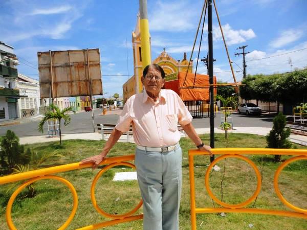 Chico Xavier em na ultima visita a Milagres-CE (Dezembro de 2014) | Foto: reprodução Facebook