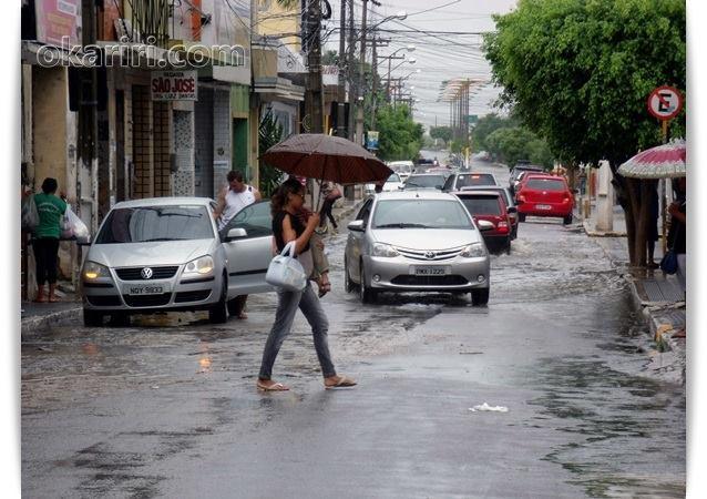 Chuva em Milagres CE