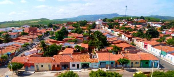 Vista da cidade de Abaiara-CE \ Foto: Google