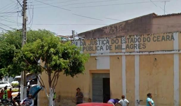 Predio atual da Cadeia Publica do Estado em Milagres-CE | Foto: Google Mapas
