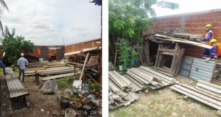 Mauriti-CE: Policias, realizaram apreensões de materiais furtados da Empresa Queiroz Galvão