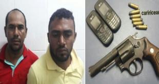 Em Penaforte-CE, pernambucanos são de posse de arma de fogo