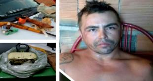 Porteiras-CE: Acusado de trafico é preso com arma e droga