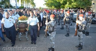 O milagrense Coronel Macedo é enterrado com honras Militares; Veja fatos e fotos