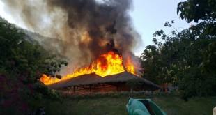 Incêndio atinge restaurante do Arajara Park