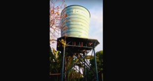 Milagres-CE: Caixa d'água do Sitio Santa Catarina continua com defeito; veja vídeo