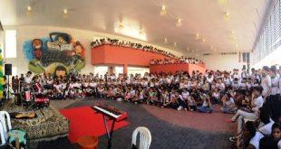 Milagres-CE: Veja fatos e fotos do aniversario de 04 anos da Escola Profissionalizante