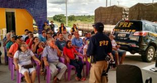 Maio Amarelo: PRF Realiza ações educativas em Milagres e Brejo Santo
