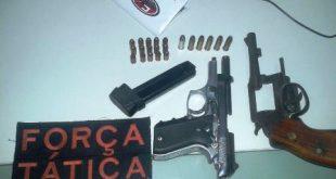 Policia: Em Mauriti, prisão por porte de arma, em Jati, cadáver é encontrado e identificado posteriormente