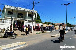 O movimento alimentou nos últimos dias que antecederam ao fim do prazo de regulamentação | Foto Agência OKariri