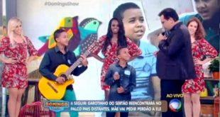 """Aurora-CE: Dupla de garotos se apresenta no """"Domingo Show"""" da TV Record; Veja Vídeo"""