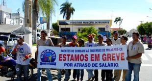 Milagres-CE: Agentes de Endemias entram em greve por tempo indeterminado
