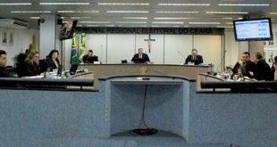 Sessão na Corte do TRE-CE (Imagem: Divulgação)