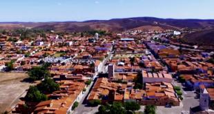 Vista aérea do município de Jati | Imagem reprodução Governo do Estado