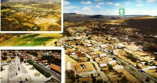 Vista aérea da Cidade de Abaiara-CE | Foto: Reprodução do Governo do Estado