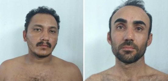 Os acusados tentaram assaltar o correios do Município de Óros (Foto: reprodução)