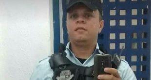 Policial Militar Djackson Araújo de Viveiros foi morte durante tentativa de assalto  (Foto: Reprodução)