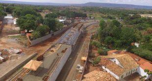 Obras dos trechos II e III da avenida do Contorno de Juazeiro do Norte chegam a 90% (Foto: Reprodução)