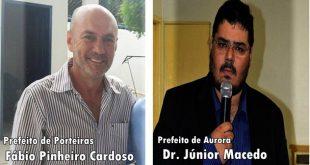 Fotos: reprodução de Porteiras Agora e Aqui Conectados.