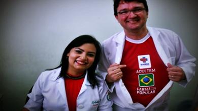 Fernando Michelliny, Farmacêuticos e proprietários da Farmácia São Mateus em Milagres-CE.