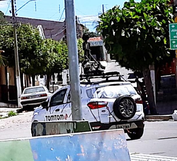 carro do Google em Milagres (TomTom)