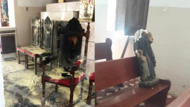 Igreja Incendiada