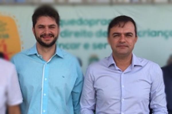 Guilherme Landim e Fernando Santana recém eleitos Deputados Estaduais | Imagem Divulgação