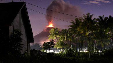Vulcão na Indonésia