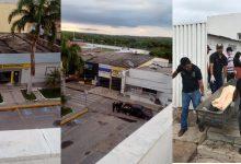 Tentativa de assalto aos bancos do Brasil e Bradesco em Milagres