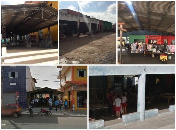 Imagens do antigo mercado