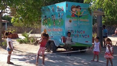 Trailer comprado com o investimento do Criança Esperança — Foto: Divulgação/SOAF