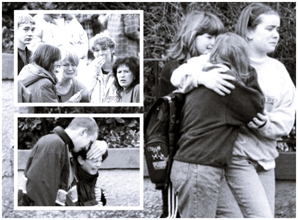 Dezesseis crianças foram mortas por ex-líder escoteiro armado que invadiu escola   Imagem reprodução STEFAN ROUSSEAU/PA WIRE