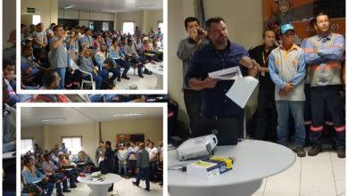 A palestra contou com a presença de funcionários e dirigentes das empresas | Foto: Divulgação
