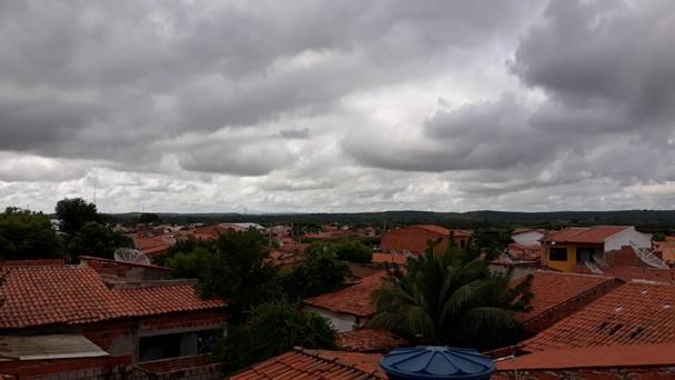 Tempo nublado em Milagres / Foto: Portal OKariri