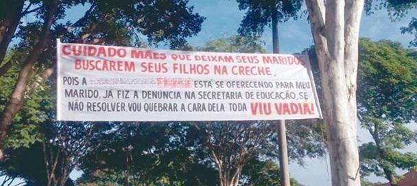 Caso aconteceu em Betim, Minas Gerais. Prefeitura informa que Polícia Civil vai investigar a ocorrência(Foto: Reprodução / Twitter)